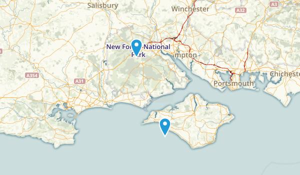 Brook, England Map