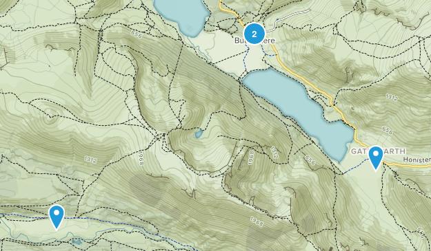 Buttermere, England Map