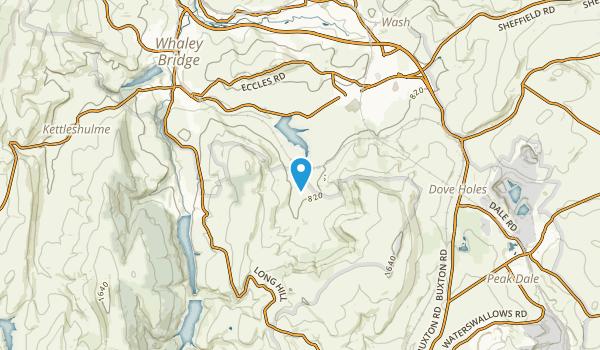 Chapel-En-Le-Frith, England Map