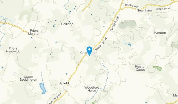Charwelton, England Map