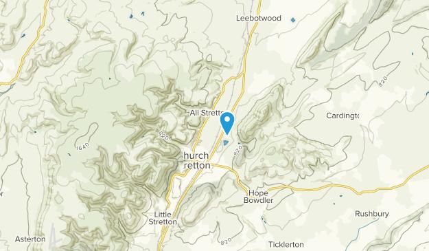 Church Stretton, England Map