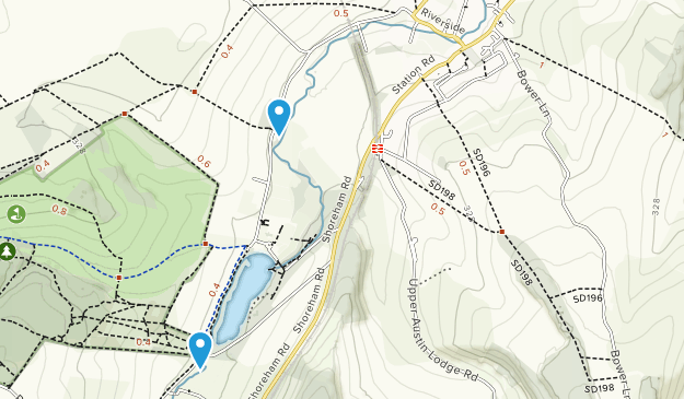 Eynsford, England Map