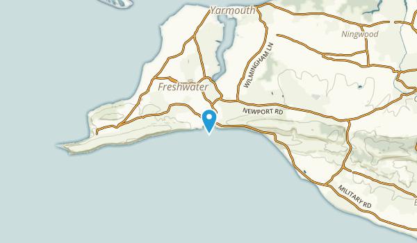 Freshwater, England Map