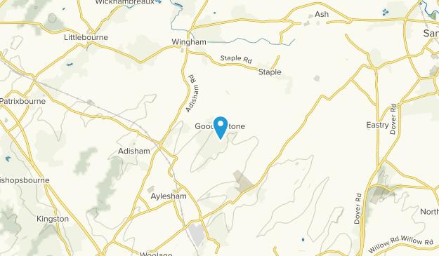 Goodnestone, England Map