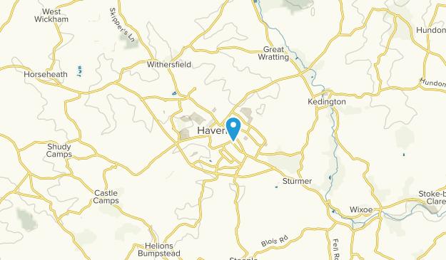 Haverhill, England Map