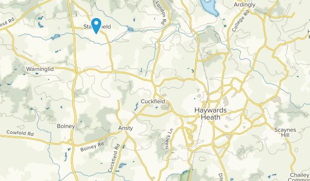 Haywards Heath, England Map