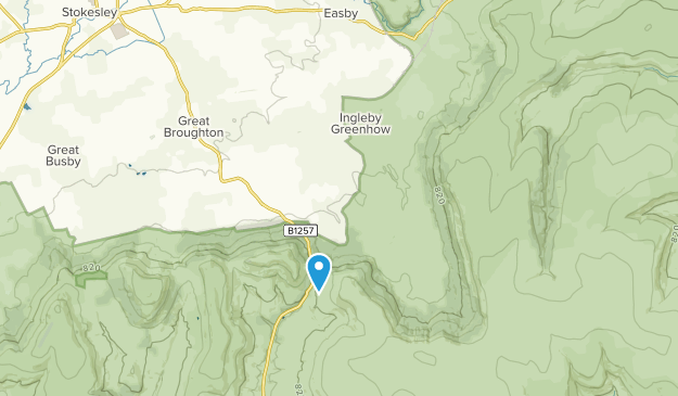 Ingleby Greenhow, England Map