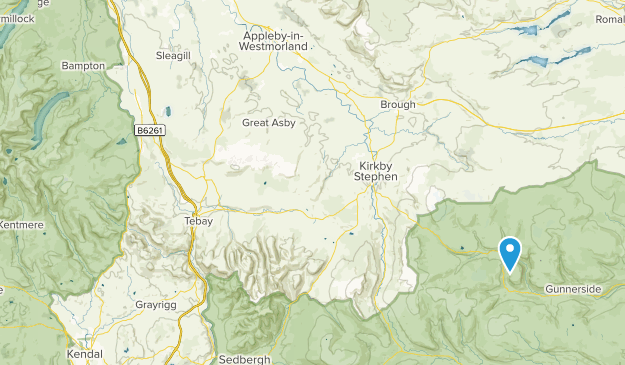 Keld, England Map