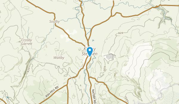 Kirkby Stephen, England Map