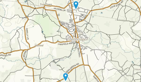 Marlpit Hill, England Map