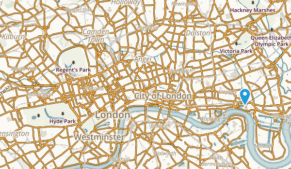 Paddington, England Map