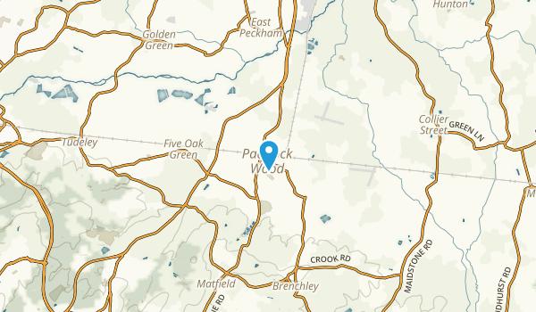 Paddock Wood, England Map