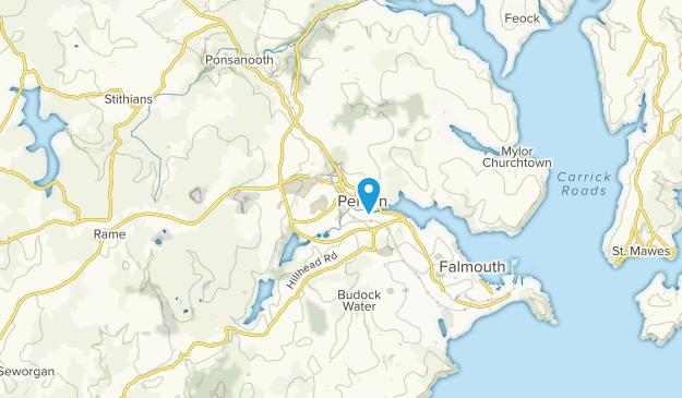 Penryn, England Map