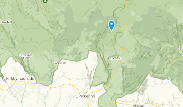 Pickering, England Map