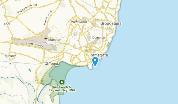 Ramsgate, England Map