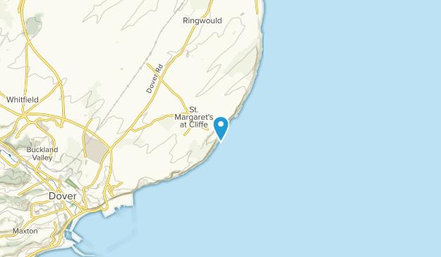 Saint Margarets at Cliffe, England Map