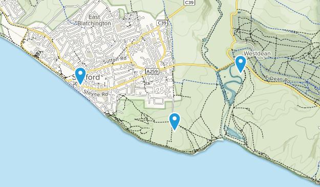 Seaford, England Map
