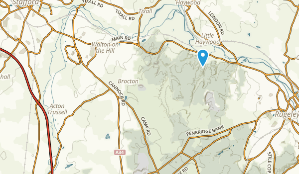 Stafford, England Map
