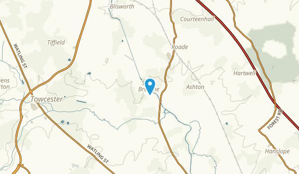 Stoke Bruerne, England Map