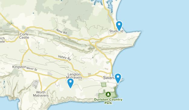 Swanage, England Map