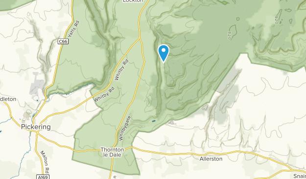 Thornton-Le-Dale Civil Parish, England Map