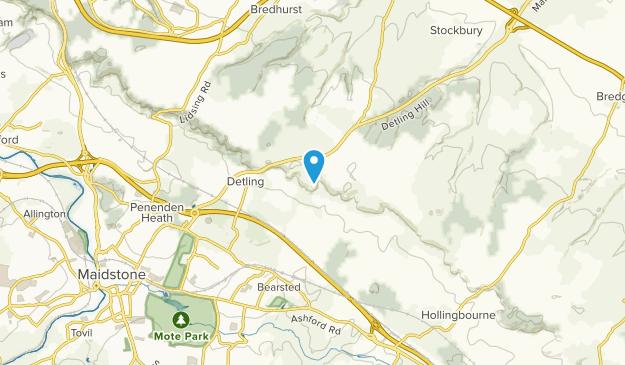 Thurnham, England Map