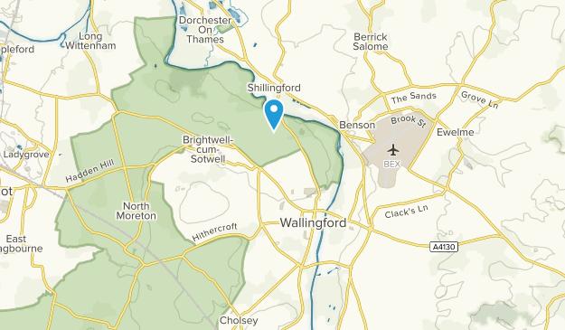 Wallingford, England Map
