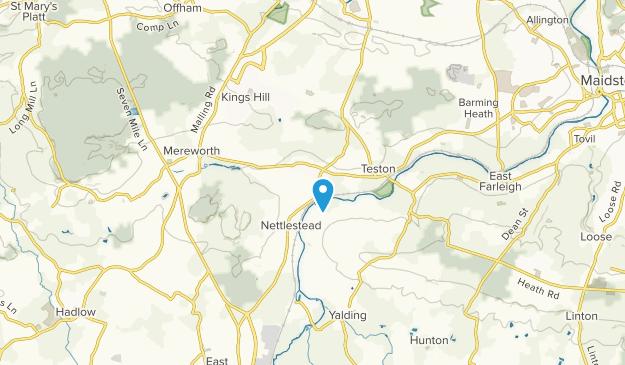 Wateringbury, England Map