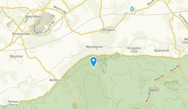 Woolstone Civil Parish, England Map