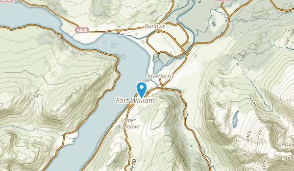 Fort William, HLD Map