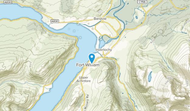 Fort William, HLD Map