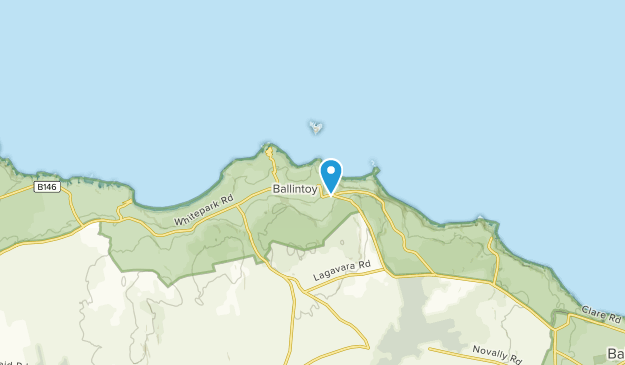 Ballintoy, Northern Ireland Map