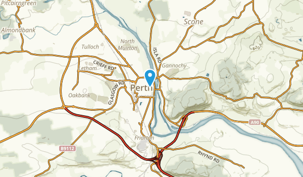 Perth, Perth and Kinross Map