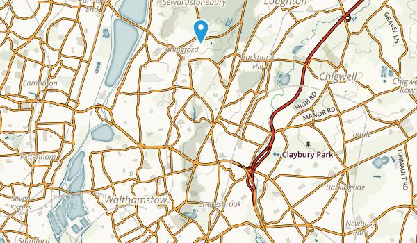 London, Redbridge Map