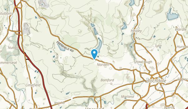 Rochdale, Rochdale Map