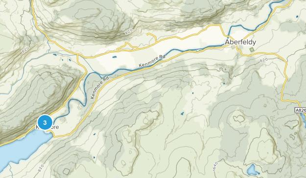 Aberfeldy, Scotland Map