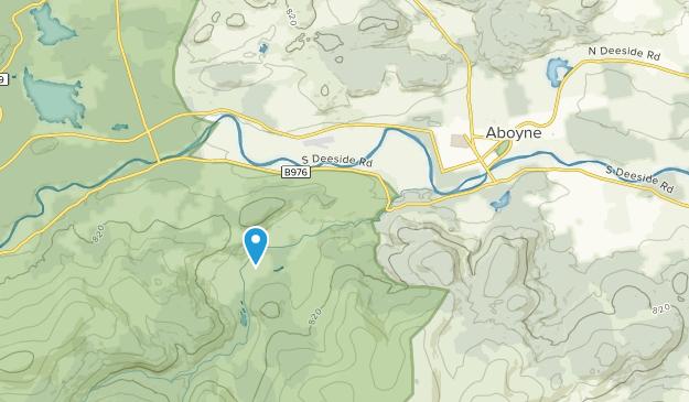 Aboyne, Scotland Map