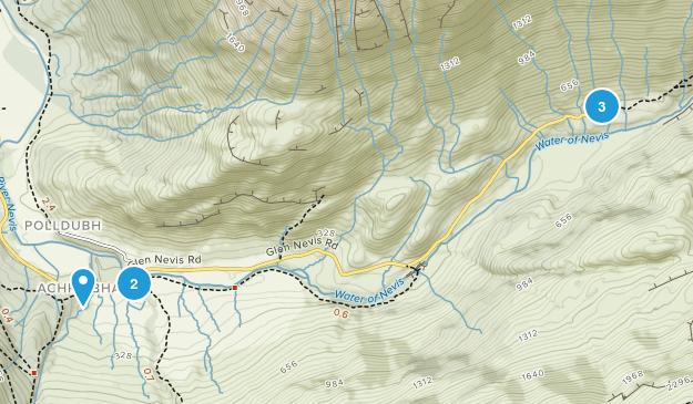 Achriabhach, Scotland Map