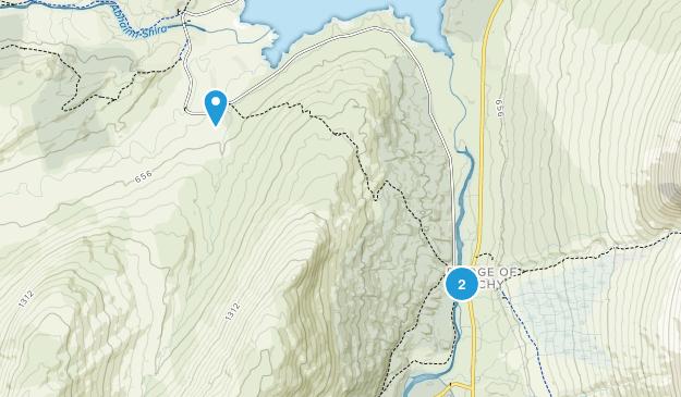 Bridge Of Orchy, Scotland Map