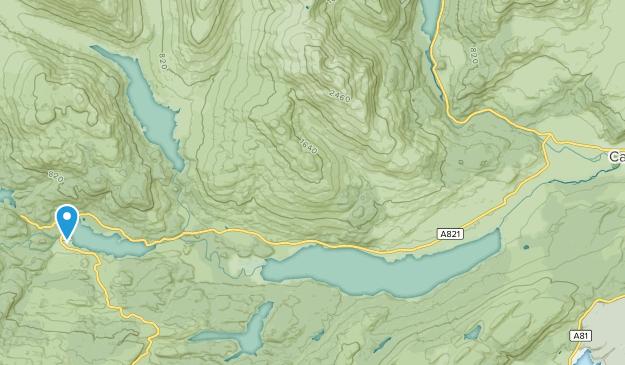 Callander, Scotland Map