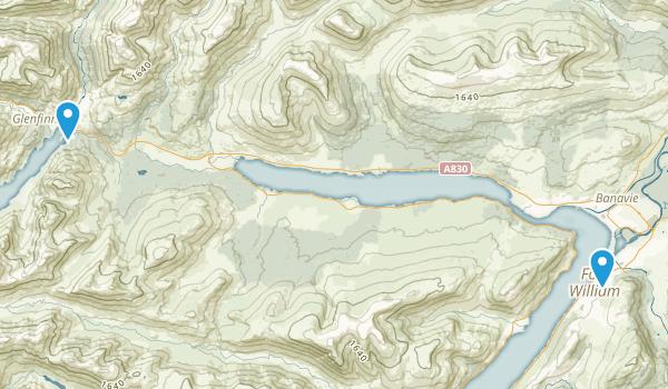 Fort William, Scotland Map