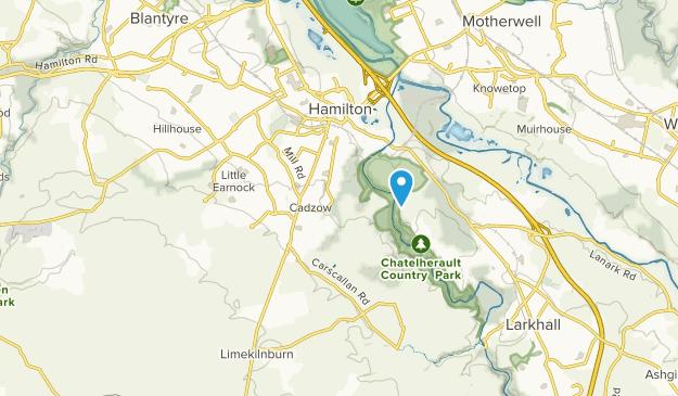 Hamilton, Scotland Map