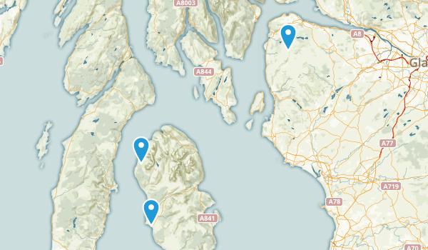 Inverkip, Scotland Map