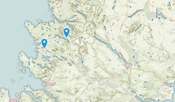 Lairg, Scotland Map