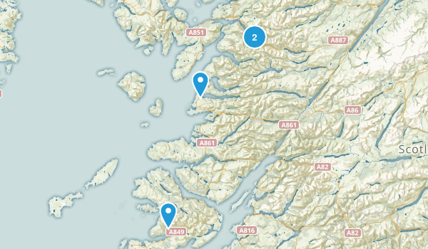 Mallaig, Scotland Map