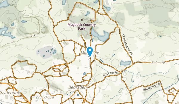 Milngavie, Scotland Map