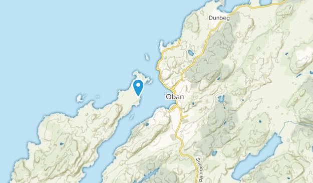 Oban, Scotland Map