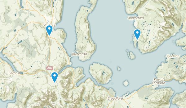 Portree, Scotland Map