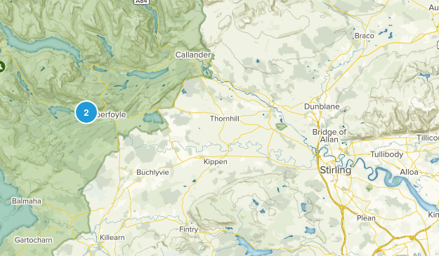 Stirling, Scotland Map