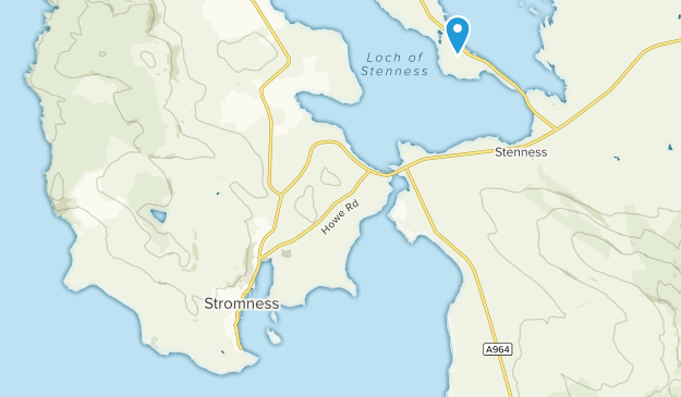 Stromness, Scotland Map
